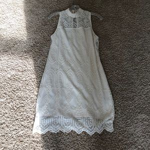 Maurices Creme Party Dress Size S